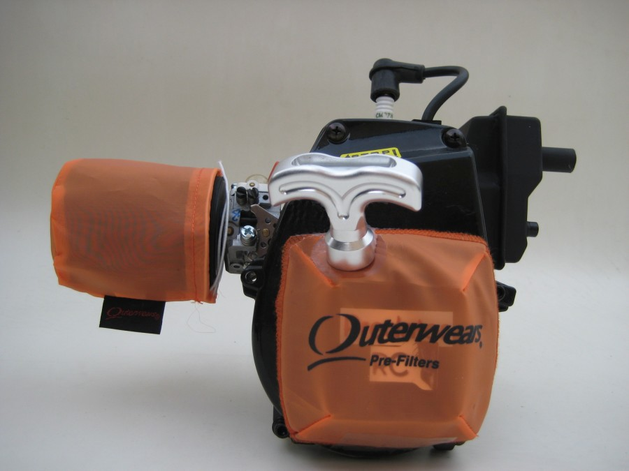 Outerwears Pre Filter For Air Filter Orange