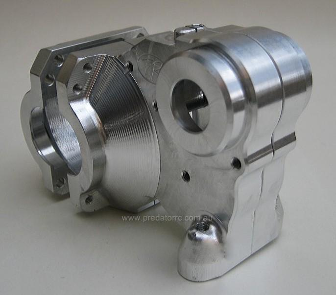 Diff Gearbox Quick Change Gearbox Housing Silver by Turtle Racin