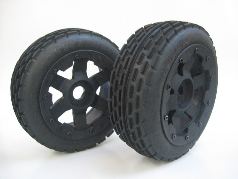 Dirt Buster Style Front Tyres on Supersix Wheels