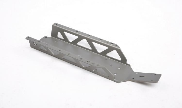 Baja Hard Anodised Main Chassis Gun Metal