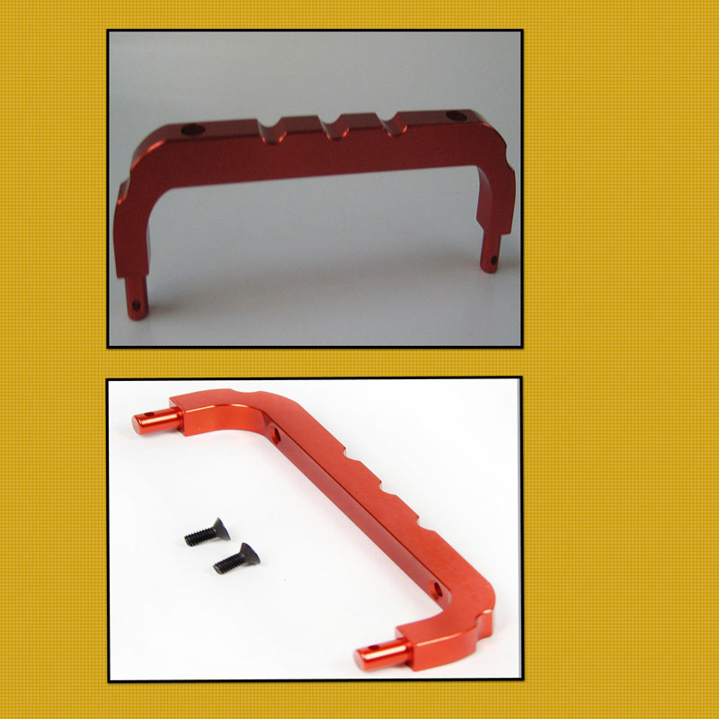 Roll Cage Front Support (over RX/Batt Box)  ALLOY Orange 95200