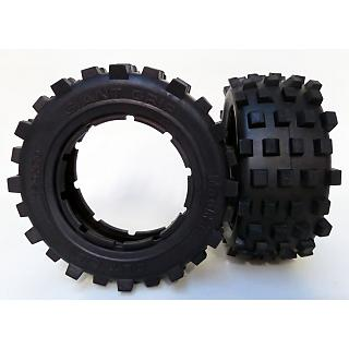 5T SC Losi5 Giant Grip Knobby Tyres 190x70 HD by MadMax