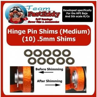 Hinge Pin Shims 0.5mm by TeamfastEddy